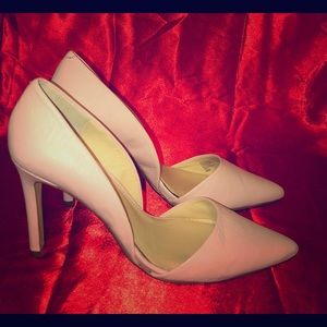 Banana Republic Blush Pink Leather Heels